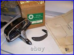 Vintage nos rare Ford EDSEL Hooded Mirror kit fomoco oem nib 1958 1959 1960 59