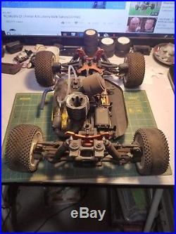 Vintage ofna buggy nitro rc 1/8th scale 4 wheel drive