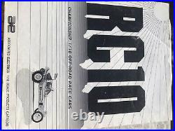 Vintage rc10 team associated gold pan
