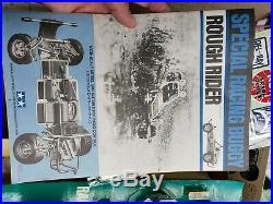 Vintage tamiya Rough Rider Srb Futaba Radio New Kit Rare 70s Buggy original