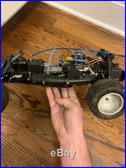 Vintage traxxas nitro sport rc truck