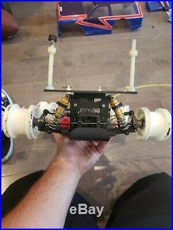 Vintage yokomo yz10 4wd Buggy Rare Rc10 Team Associated yz-870c YZ 10