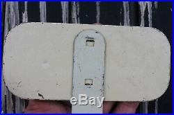 Vtg 1950s license plate topper auto car truck display part Harley hot rod Bobber