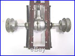 Vtg Tether Gas Powered Car Chassis Axles Suspension Parts Cox Gilbert Testors