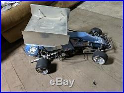 WCM 1/4 SCALE SPRINT CAR delara new era quickdraw quarter 1/5 NEW BUILT VINTAGE