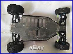 YOKOMO MX-4 4WD RACING BUGGY VINTAGE 1/10 Rc Racing Car Used With Parts Lot